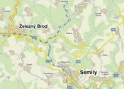 detailnější mapa centrály
